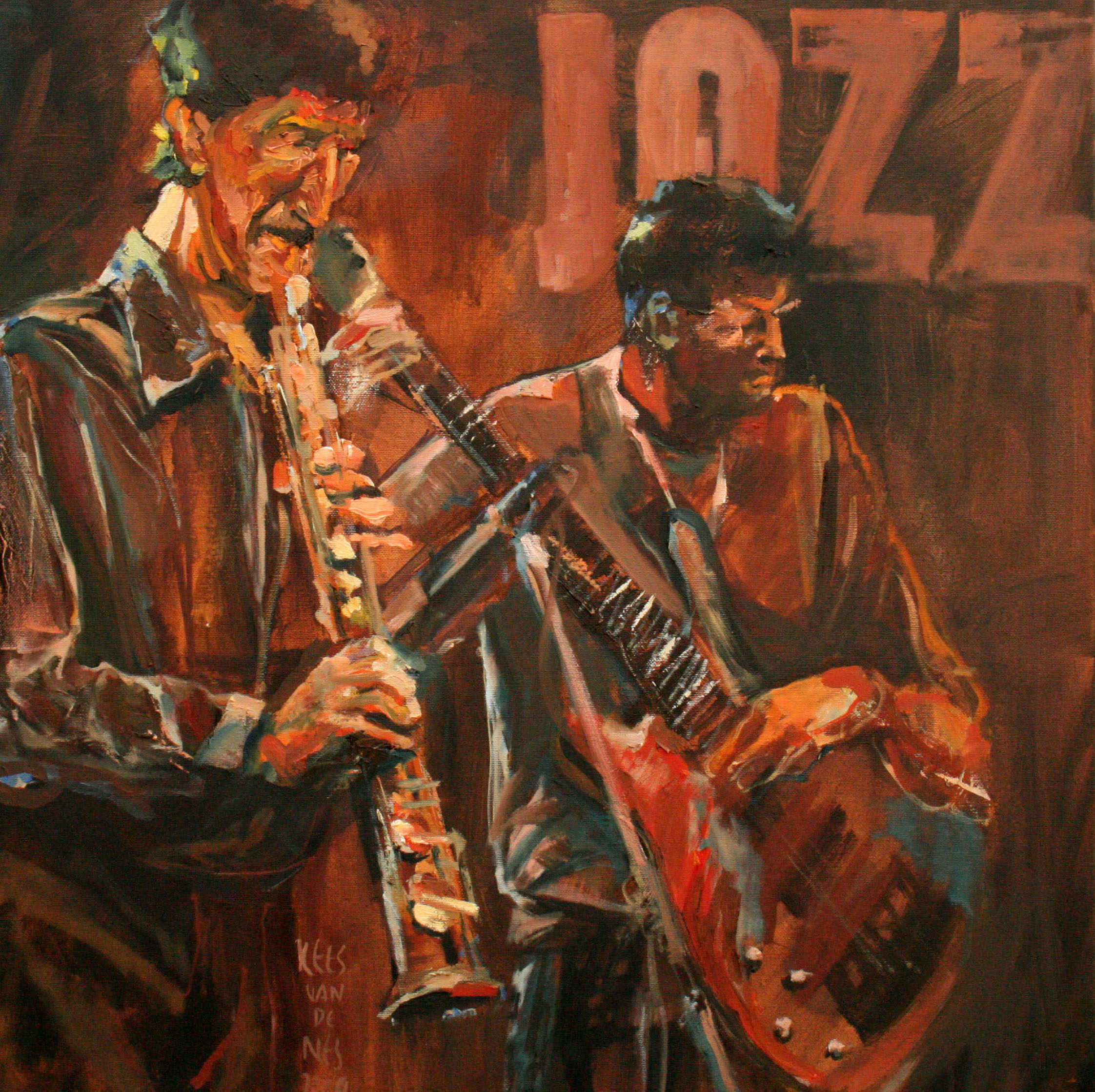 hr Jazz serie duo 60x60